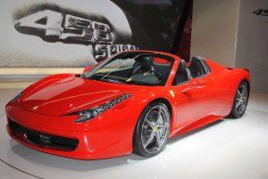 Alquilar Ferrari 458 Spider
