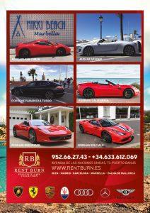 Alquiler deportivos en Marbella