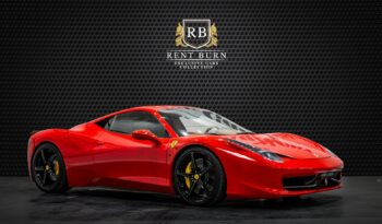 Ferrari 458 Spider full