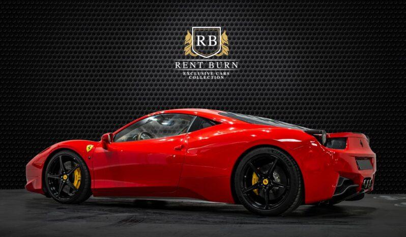 Ferrari 458 Spider full