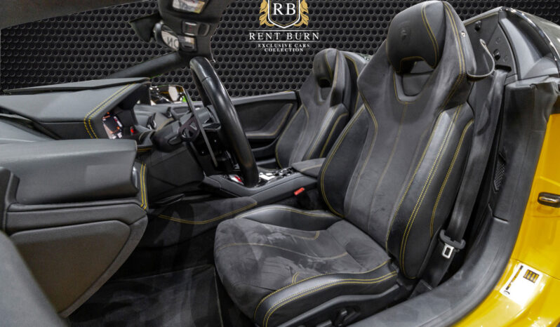 Lamborghini Huracan Spyder full