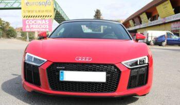 Audi R8 Spyder V10 full